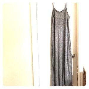 Ladies spaghetti strap maxi dress